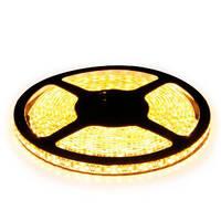 Герметичная светодиодная лента теплый белый цвет 12В smd3528 B-LED