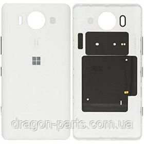 Задняя крышка  Nokia Lumia 950 белая оригинал , 00814D8