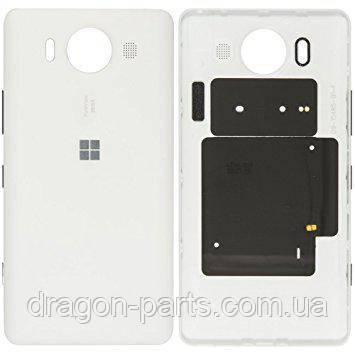 Задня кришка Nokia Lumia 950 біла оригінал , 00814D8, фото 2