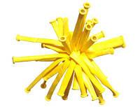 Шарик конструктор для моделирования ШДМ  желтый , размер : 2.5 см.* 150 см.