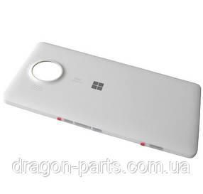 Задняя крышка  Nokia Lumia 950 XL белая оригинал , 00813X4