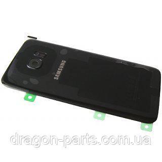 Задняя крышка стекляная Samsung galaxy S7 Edge SM-G935 Black, GH82-11510A оригинал, фото 2