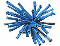 Шарик конструктор для моделирования ШДМ  синий , размер : 2.5 см.* 150 см.