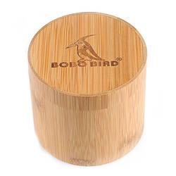 Круглая коробка из бамбука для часов Bobo Bird