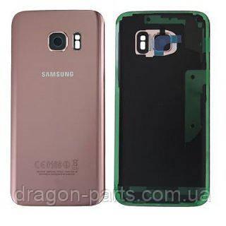 Задняя крышка стеклянная Samsung galaxy S7 SM-G930 Pink-Gold, GH82-11514E оригинал, фото 2