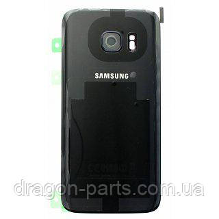 Задняя крышка стеклянная Samsung galaxy S7 SM-G930 Black, GH82-11514A оригинал