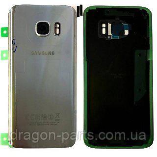 Задняя крышка стеклянная Samsung galaxy S7 SM-G930 Silver, GH82-11514B оригинал, фото 2