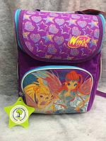 Ранец каркасный для девочки ТМ 1 Вересня H-11 Winx 552759 Украина