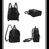 Рюкзак женский Suivea черный eps-8113, фото 3
