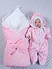 """Зимний Набор на выписку для новорожденного """"Зимняя сказка"""" (розовый)"""
