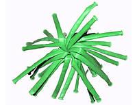 Шарик конструктор для моделирования ШДМ  зеленый , размер : 2.5 см.* 150 см.