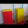 Спортивный складной мат 200-100-10 см с 4-х частей