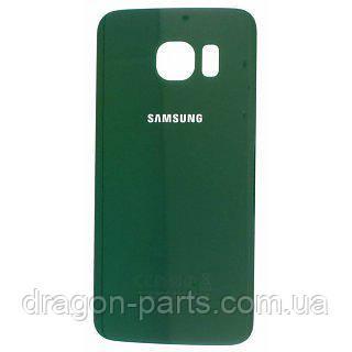 Задняя крышка стеклянная Samsung galaxy S6 Edge SM-G925 Green, GH82-09756E оригинал