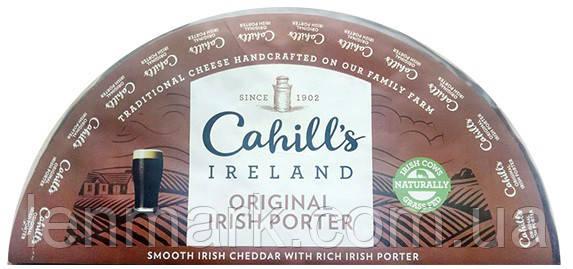 Сыр Чеддер Cahill's Farm Ireland Irish Porter Cheddar с ирландским портером