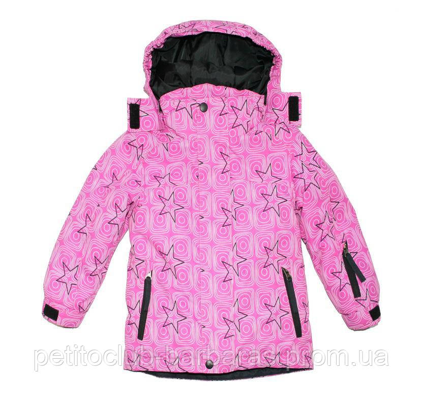 Куртка зимняя для девочки розовая (Quadrifoglio, Польша)