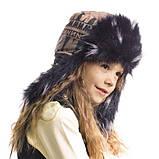 Детская шапка зимняя для девочек КОЛИН оптом размер 52-54-56, фото 2