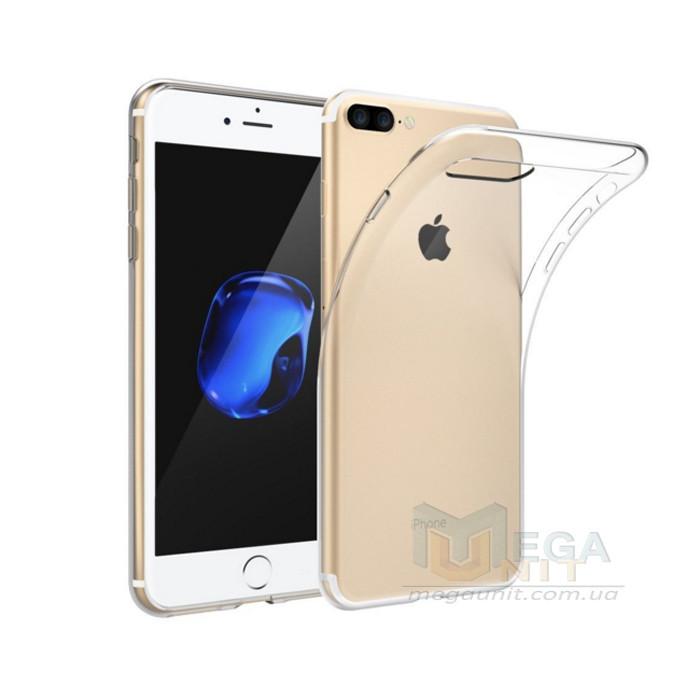 Прозрачный силиконовый чехол для Apple iPhone 7 Plus / 8 Plus