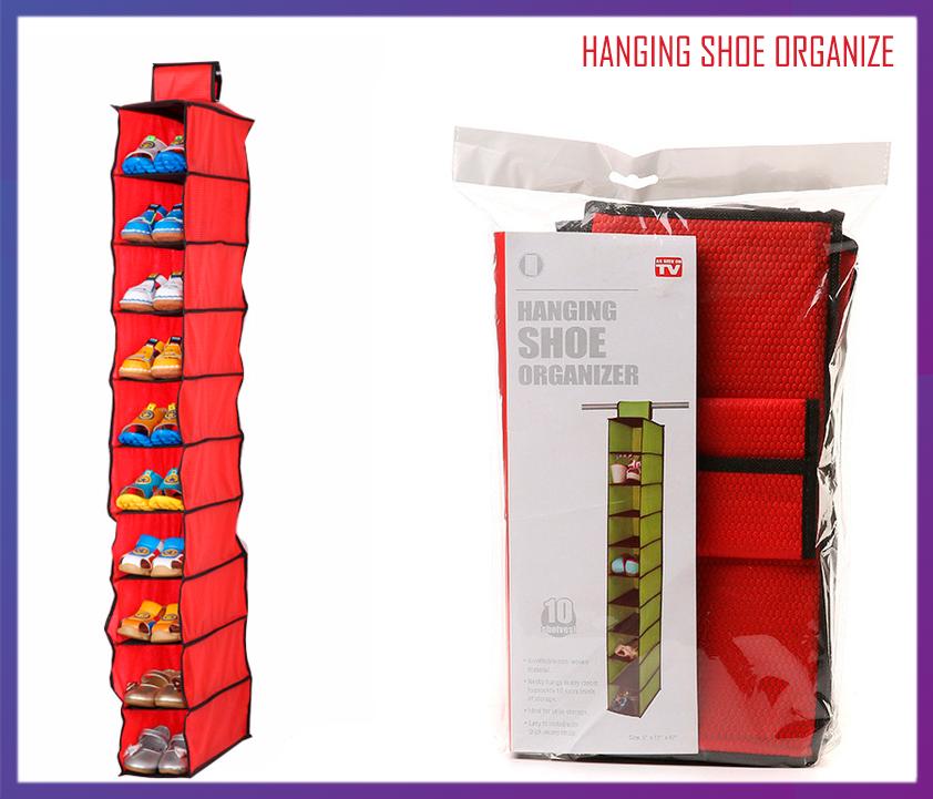 Подвесной органайзер для обуви Hanging Shoe Organize