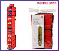 Подвесной органайзер для обуви Hanging Shoe Organize, фото 1