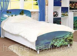 Кровать 1-сп МУЛЬТИ СВІТ МЕБЛІВ