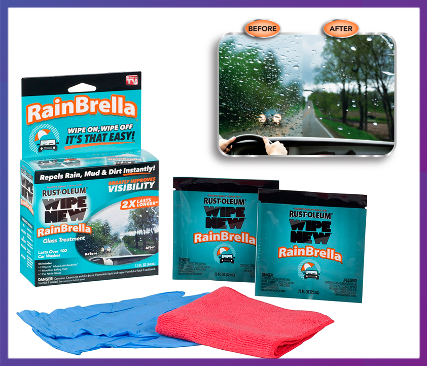 Антидождь для стекла автомобиля RainBrella