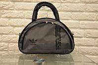 Спортивная сумка Adidas модель MB. (черный+серый) , фото 1