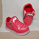 Мигающие демисезонные ботинки, 14 и 14,5 см, фото 3