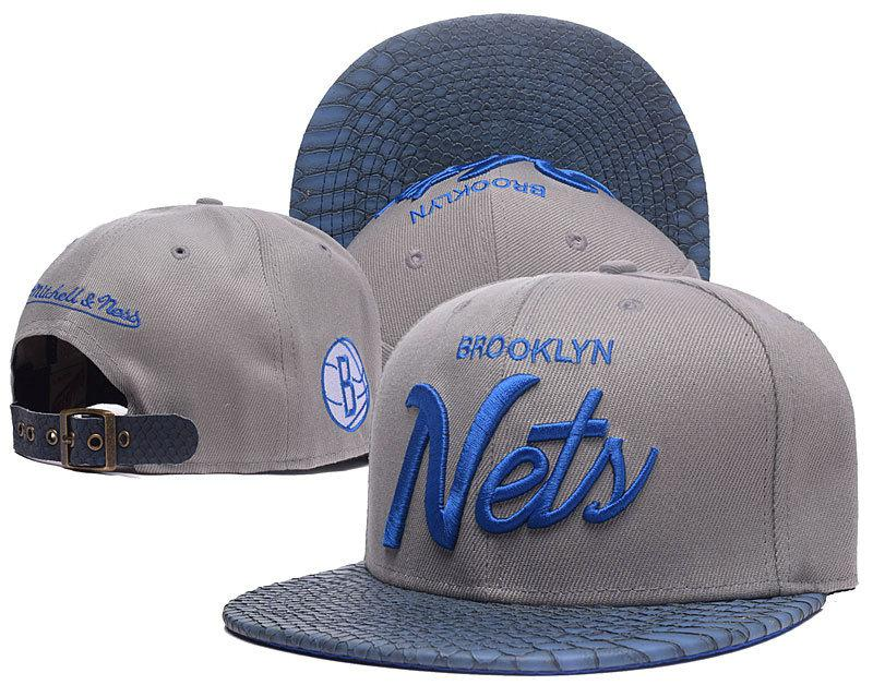 Кепка Snapback Brooklyn Nets / SNB-1182 (Реплика)