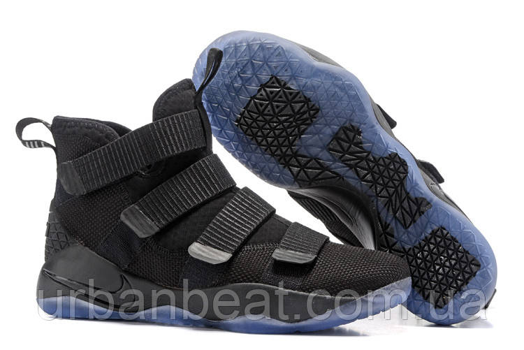 Мужские Кроссовки Nike Lebron Soldier 11 Black — в Категории