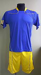 Футбольная форма взрослая сине-желтая