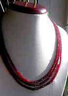 Роскошное, яркое, ожерелье с индийскими рубинами, фото 1