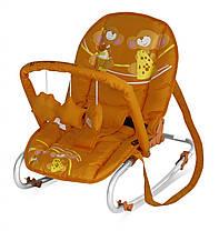 Шезлонг Bertoni TOP RELAX (с игрушкой) (orange mice)  T0798