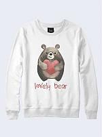 Світшот жіночий/підлітковий unisex Lovely Bear, фото 1