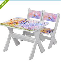 """Столик и два стульчика деревянные """"Мишки"""" М 2100-12 ***"""