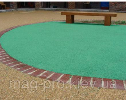 Бесшовные резиновые покрытия для двора и дачи
