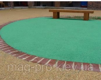 Бесшовные резиновые покрытия для уличных и садовых дорожек, фото 2