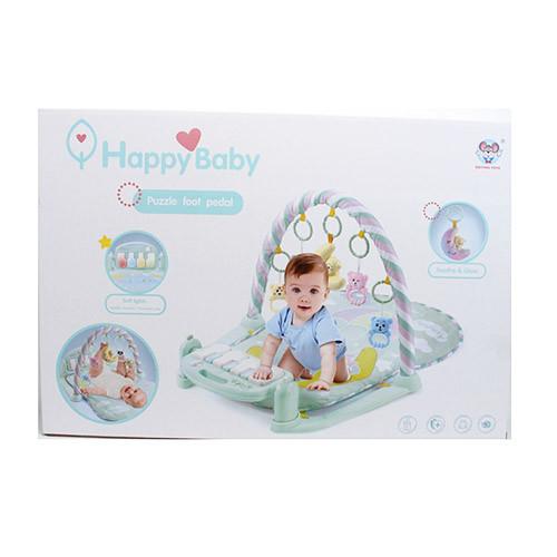 Килимок для немовляти з піаніно, іграшки 5 штук 698-56, Розміри в упаковці: 62-42-11см