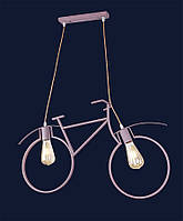 Светильник подвесной LOFT  L56PR7021-2 Bike pink-beige