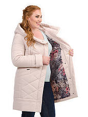 Куртка женская демисезонная батал 3634, 48-58, фото 2