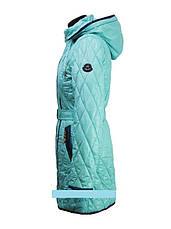 """Детское демисезонное пальто для девочки """"Anernuo"""" 1533,130-170, фото 2"""