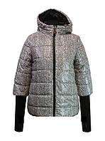 """Детская демисезонная  куртка для девочки """"Anernuo"""" 1609,130-150"""