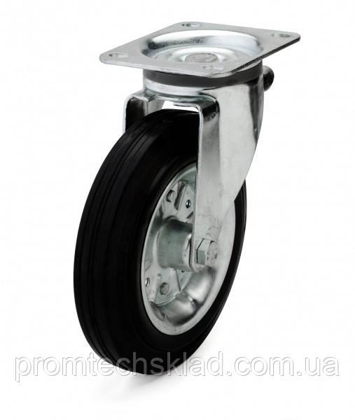 Колеса с поворотным кронштейном с площадкой 200 мм Германия