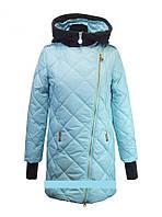 """Детское демисезонное пальто для девочки """"Anernuo"""" 1642,130-150"""