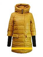 """Детское демисезонное пальто для девочки """"Anernuo"""" 1646,130-150"""
