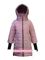 """Детское демисезонное пальто для девочки """"Anernuo"""" 1702,130-170"""