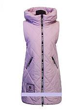"""Детское демисезонное пальто-трансформер  для девочки """"Lusiming""""  8546,134-158, фото 2"""