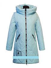 """Детское демисезонное пальто-трансформер  для девочки """"Lusiming""""  8546,134-158, фото 3"""