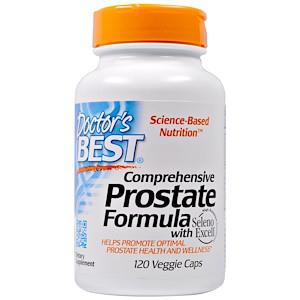Doctor's Best, Универсальная формула здоровья простаты, 120 вегетарианских капсул