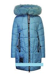 Детское зимнее пальто для девочки от Оhccmith 815,  140-164