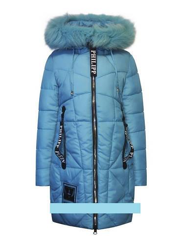 Детское зимнее пальто для девочки от Оhccmith 815,  146р.